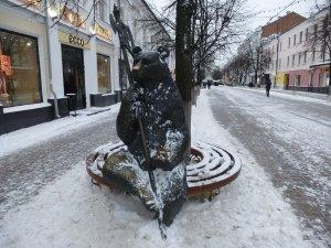 Ярославль. Улица Кирова. Медведь