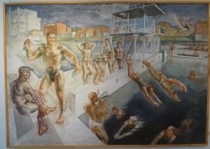 Водная станция. Луппов С.М., 1937 г. Ярославский художественный музей