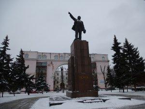 Ярославль. Памятник В. И. Ленину