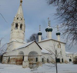 Ярославль. Церковь Николы Рубленый город