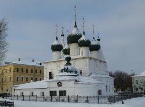 Ярославль. Церковь Спаса на городу