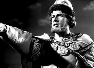 Александр Невский (кадр из фильма «Александр Невский», актер Николай Черкасов, режиссёр Сергей Эйзенштейн, 1938 г.)