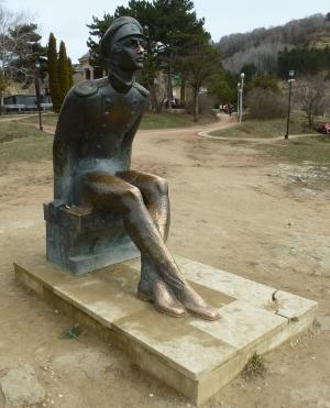 Кисловодск. Национальный парк «Кисловодский». Памятник М. Ю. Лермонтову