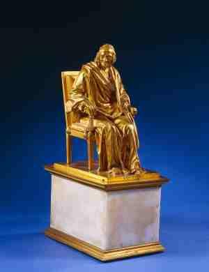 Статуэтка: Вольтер в вольтеровском кресле