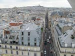 Вид Парижа с Колеса обозрения. Лувр (Париж)
