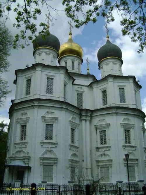 Церковь Казанской иконы Божьей Матери. Усадьба Узкое (Москва)