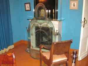 Музей Гоголя на Никитском бульваре. Считается, что в этой печи Гоголь сжег 2-й том Мертвые души