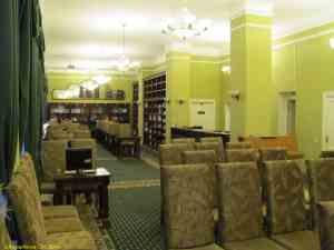 Музей Гоголя на Никитском бульваре. Комната на втором этаже, где жили хозяева дома