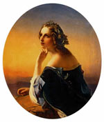 Нефф Т. А. Мечтание. 1840-е, ГТГ