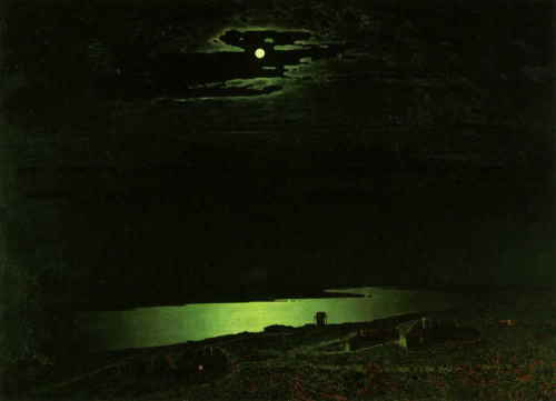 Ночь на Днепре. Куинджи А. И., 1882 г., ГТГ