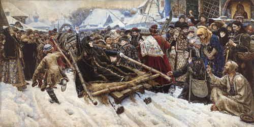 Суриков В. «Боярыня Морозова», 1887, ГТГ