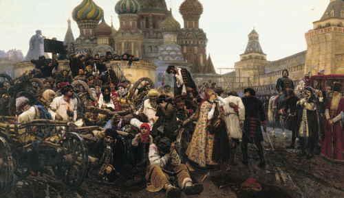 Суриков В. Утро стрелецкой казни, 1881, ГТГ
