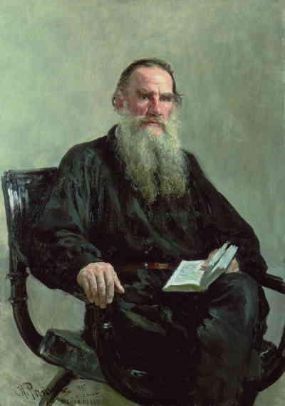 Портрет Льва Толстого, художник Репин И.Е. (1887 г.), ГТГ