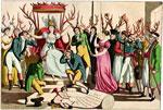 Французская гравюра 1815 года