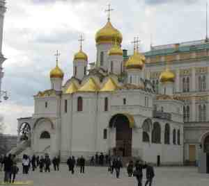 Московский кремль. Благовещенский собор