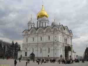 Московский кремль. Архангельский собор.