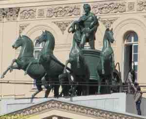 Квадрига. Большой театр (Москва)