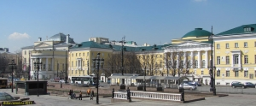 Москва. Московский университет на Моховой