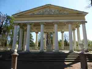 Павловск. Собственный сад. павильон Трех граций