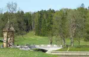 Павловский парк. Пильбашенный мост