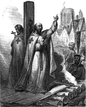 Казнь Жака де Моле