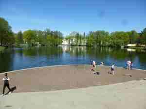 Таврический сад, пруд (Санкт-Петербург)