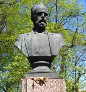 Таврический сад, Памятник Чайковскому (Санкт-Петербург)