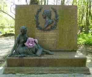 Захоронение Вагановой. Литераторские мостки. (Санкт-Петербург)