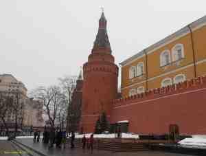 Угловая Арсенальная башня (Собакина) Московского кремля (Москва)