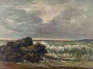 Волна, Гюстав Курбе, ок. 1870 г.
