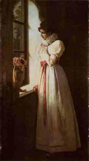 Татьяна Ларина (илл. М.П. Клодта, 1886 г.)