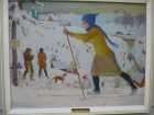 Лыжница. Дормидонтов Н.И., 1931 г.