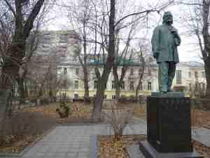 Памятник А. И. Герцену. Тверской бульвар (Москва)