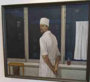 Хирург Васильев Ф.Д. (ночное дежурство), Чекмасов В.С., 1972 г. Музей изобразительных искусств Республики Карелия (Петрозаводск)
