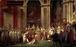 «Посвящение императора Наполеона I и коронование императрицы Жозефины в соборе Парижской Богоматери 2 декабря 1804 года», Жак Луи Давид (1804 – 1807 гг.)