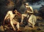 Меркурий усыпляет Аргуса, чтобы похитить нимфу Ио. Кошелев Н.А., 1864 г.