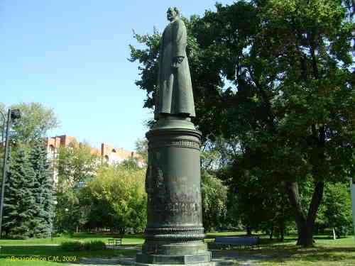 Парк искусств. Памятник Дзержинскому Ф.Э.