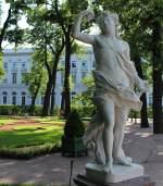 Вакх. Неизвестный скульптор. Италия. Начало 18 века (скульптура в Летнем саду Санкт-Петербурга)