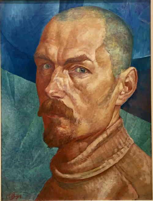 Петров-Водкин Кузьма Сергеевич (автопортрет, 1918 г.)