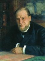 Кони Анатолий Федорович, художник И. Репин (1898)