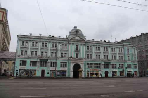 Улица Тверская, д. 5/6 - Театр им. Ермоловой