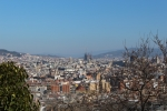 Барселона. Холм Монжуик. Вид с холма Монжуик