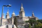 Барселона. Холм Монжуик. Национальный музей искусства Каталонии (MNAC)