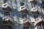 Барселона. Дом Бальо. Балконы