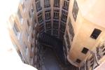 Барселона. Каса-Мила. Внутренний двор дома
