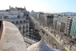 Барселона. Каса-Мила. Вид с крыши дома