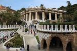 Монументальная лестница. Парк Гуэль (Барселона)