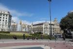 Барселона. Placa de Catalanya