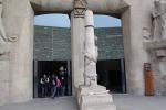 Барселона. Саграда Фамилия, Sagrada Família. Вход в храм