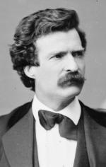 Твен Марк, Brady-Handy фото, февраль 7, 1871 г.